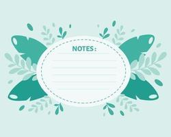 Liste, Planer, Organisator Vorlage auf Blättern Hintergrund zu tun. Vektorillustration vektor