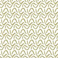 welliges goldenes Ornament - flaches Vektormuster. Textil- und Stoffdruck, Interieur. vektor
