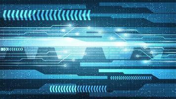 Hintergrund der Technologie für Big-Data-Leiterplatten vektor