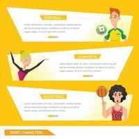 info grafisk sport fotboll, gymnastik och basket vektor