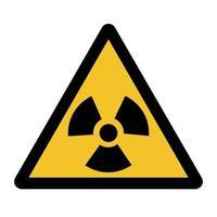 Strahlengefährdungssymbol vektor
