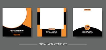 mode sociala medier postmall vektor