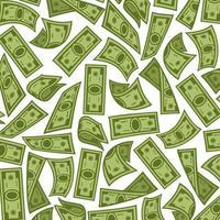 Banknoten Hintergrund - Geldmuster vektor