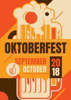 Oktoberfest-Flyer vektor