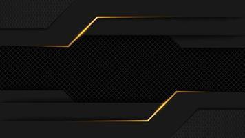 schwarz goldene königliche Luxus-Hintergrund-Landingpage vektor