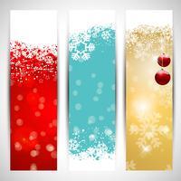 Weihnachtsfahnen vektor
