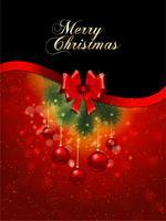 God jul bakgrund vektor
