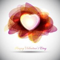 Alla hjärtans dag bakgrund vektor