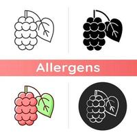 mulberry vektor ikon