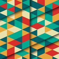 Abstrakter Dreieck Hintergrund vektor