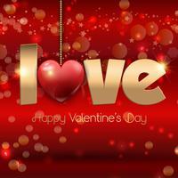 Liebe Hintergrund vektor