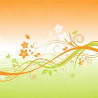 Sommerblumenhintergrund 1305 vektor