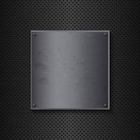 Grunge metall bakgrund vektor