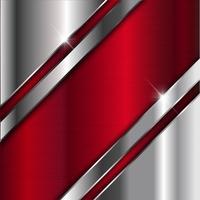 Hintergrund aus gebürstetem Metall vektor