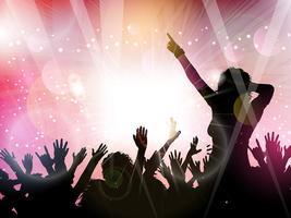 Party crowd bakgrund