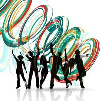 Party människor dansar