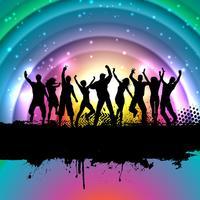 Grunge party bakgrund
