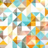 Geometrischer Hintergrund vektor