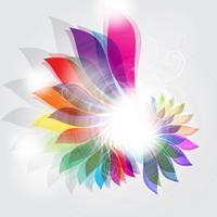 Abstraktes Blumenmuster vektor