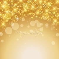 Gold Weihnachten Hintergrund vektor