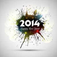 Grunge Hintergrund des neuen Jahres vektor