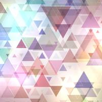 Abstrakter Dreiecke Hintergrund vektor