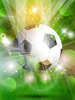 Abstrakter Fußballhintergrund