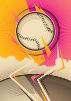 Baseball-Park vektor