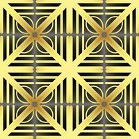 Dies ist eine Vintage goldene Parkett Textur mit Blütenblättern vektor
