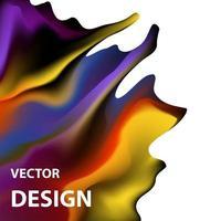 vektor bakgrundsbild med ljusa färgschema