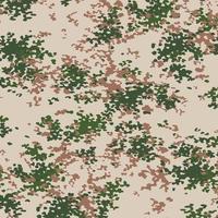 militär kamouflage textur khaki tryck bakgrund - vektor