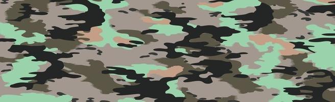 militär eller jakt panorama khaki vektor