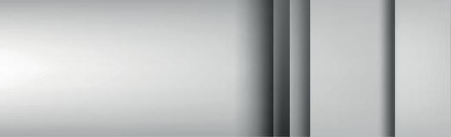 weißer und grauer Hintergrund mit mehreren Schichten - Vektor
