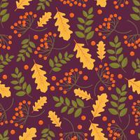 Herbst-Muster vektor