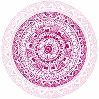 Moderner dekorativer Mandalalhintergrund vektor