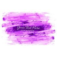 Rosa hand rita akvarell stroke bakgrund vektor