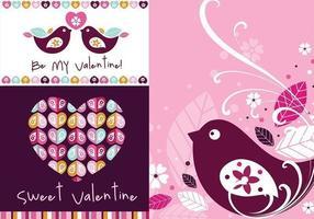 Bakgrundsvektor - Sweet Valentine Wallpaper Pack vektor