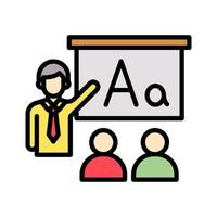 klassrums vektor ikon
