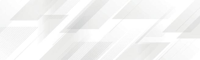 weißer Vektorpanoramahintergrund mit Wellenlinien vektor