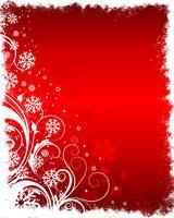 Floral Winter Hintergrund vektor