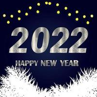 gott nytt år 2021 firande bakgrund vektor