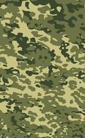militärische Tarnung Textur Khaki Druck Hintergrund - Vektor