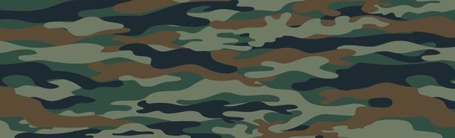 Militär- oder Jagdpanorama-Khaki vektor