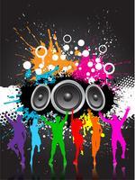 Grunge-Party vektor