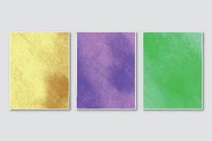 bröllopsinbjudan med kreativ minimalistisk handmålad abstrakt akvarellbakgrund vektor