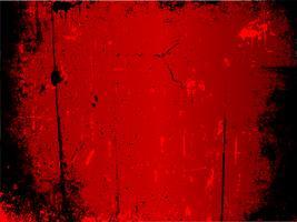 Röd grunge bakgrund vektor