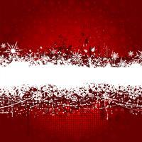 Grunge Schneeflockehintergrund vektor