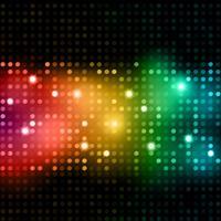 Disco Lichter Hintergrund vektor