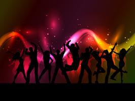 Party Hintergrund vektor