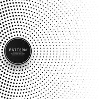 Kreis-Halbton-Muster Hintergrund vektor